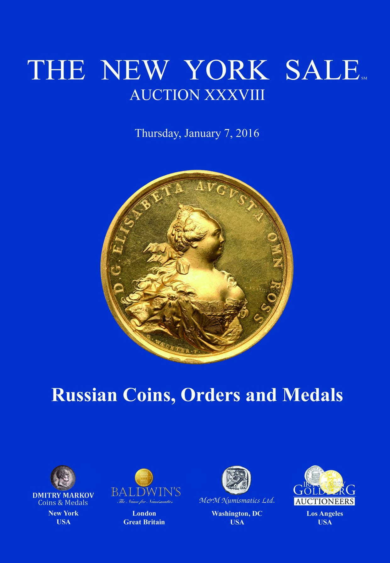 Dmitry markov coins medals for 11 adelphi terrace london wc2n 6bj